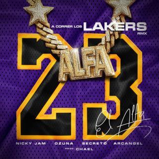 El Alfa Ft Nicky Jam, Ozuna, Arcangel, Secreto El Biberon – A Correr Los Lakers (Remix)